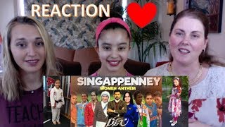 SINGAPPENNEY  / Women Anthem / Tribute to Women Everywhere /  Arun Pictures / Americans Reaction