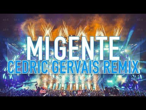 J. Balvin - Mi Gente (Cedric Gervais Remix) [Official Audio HD/HQ]