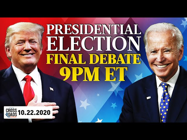 LIVE: Final 2020 US Presidential Debate Between Trump and Biden