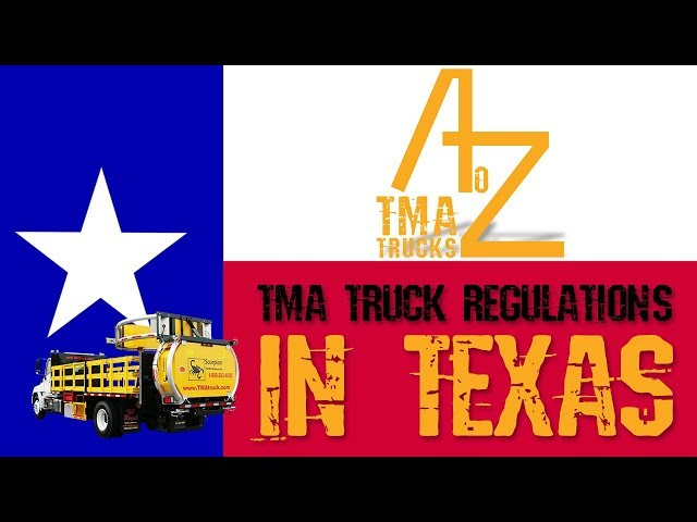 Episode 14 - TMA Truck Regulations In Texas | Royal Truck & Equipment