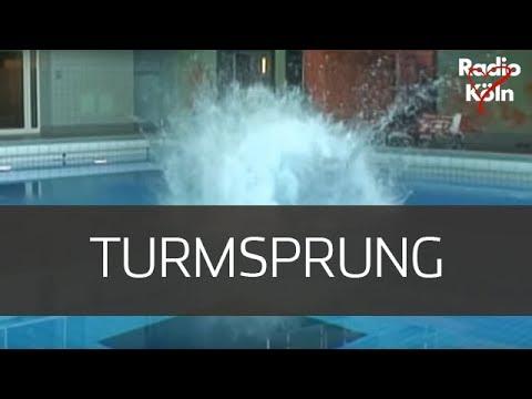 Radio Köln Schalttag  - Christian wagt den Turmsprung