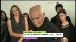 Familiares y amigos se hicieron presentes en el funeral de Sebastián Camel