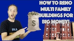 How To Renovate Multi Family Buildings And Make A LOT Of Money! (Insider Tips)