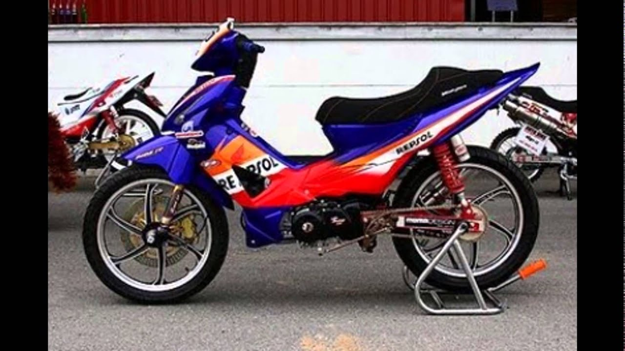 Kumpulan 56 Modifikasi Motor Honda Revo Fit Injeksi Terkeren
