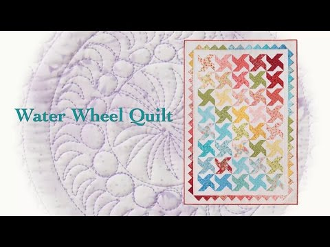 "Block Party March ""Water Wheel Quilt"""