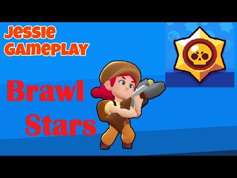(Brawl stars) Playing all the mini games with Jessie