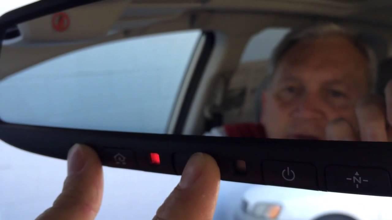 How To Program Your Garage Door Opener With Subaru Homelink Nate