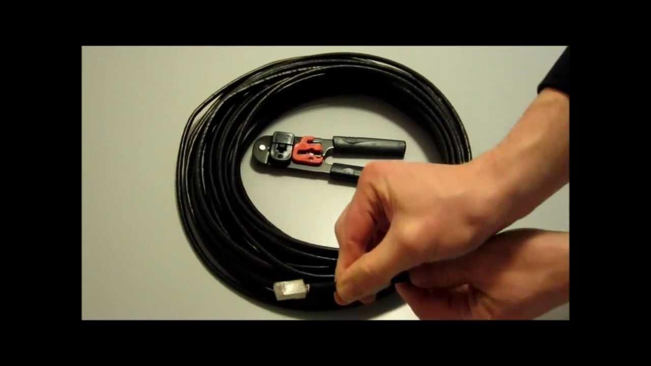 how to crimp a rj45 cable How to crimp cables and wires workshop tools by stasterisk follow 142,717 18 6 you want the wire to be unable to come pull of the crimp, if you lightly tug.