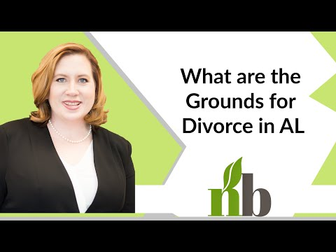 What are the Grounds for Divorce in AL? | Divorce Lawyer Huntsville Alabama | Amber James |