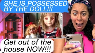 My Sister is POSSESSED By A CREEPY DOLL! *She TURNED Into The DOLL* (Scary Text Message Story Time)