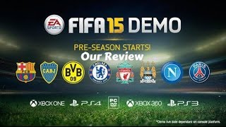 FIFA 15 Demo Review (Xbox 360 Gameplay)
