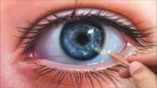 How to Draw a Realistic Eye speed painting (photorealistic) - fabiano millani