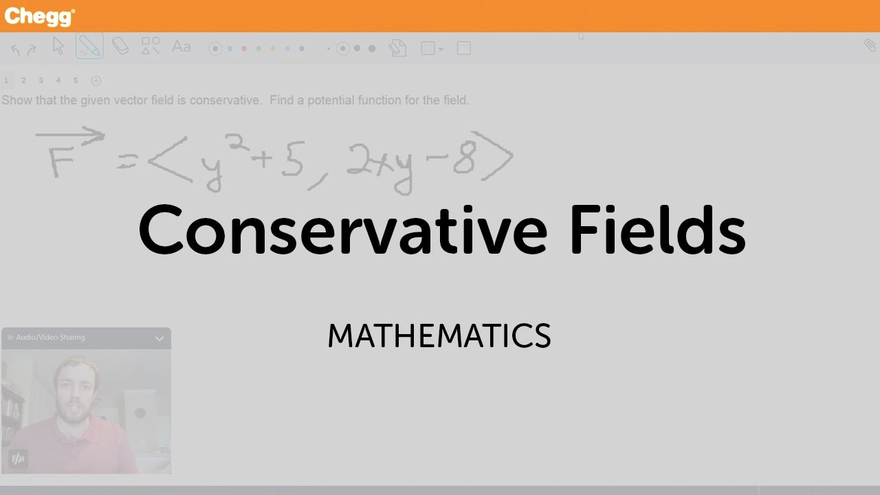 Conservative Fields | Math | Chegg Tutors