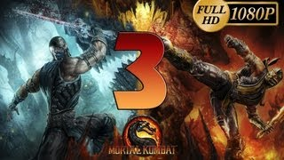Mortal Kombat 9 Komplete Edition - Gameplay PC Parte 3 | Modo Historia Capitulo 3 Scorpion | Walkthrough Español HD 1080p