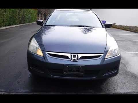 2007 Honda Accord Ex L 109k Miles Manual Trans 31 Mpg For In Tigard Or