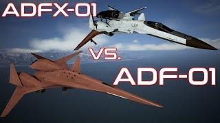 Falken VS Morgan   Performance Comparison   Ace Combat 7
