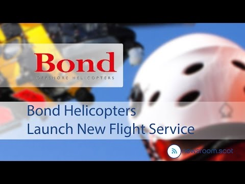 Bond Helicopters Launch New Flight Service