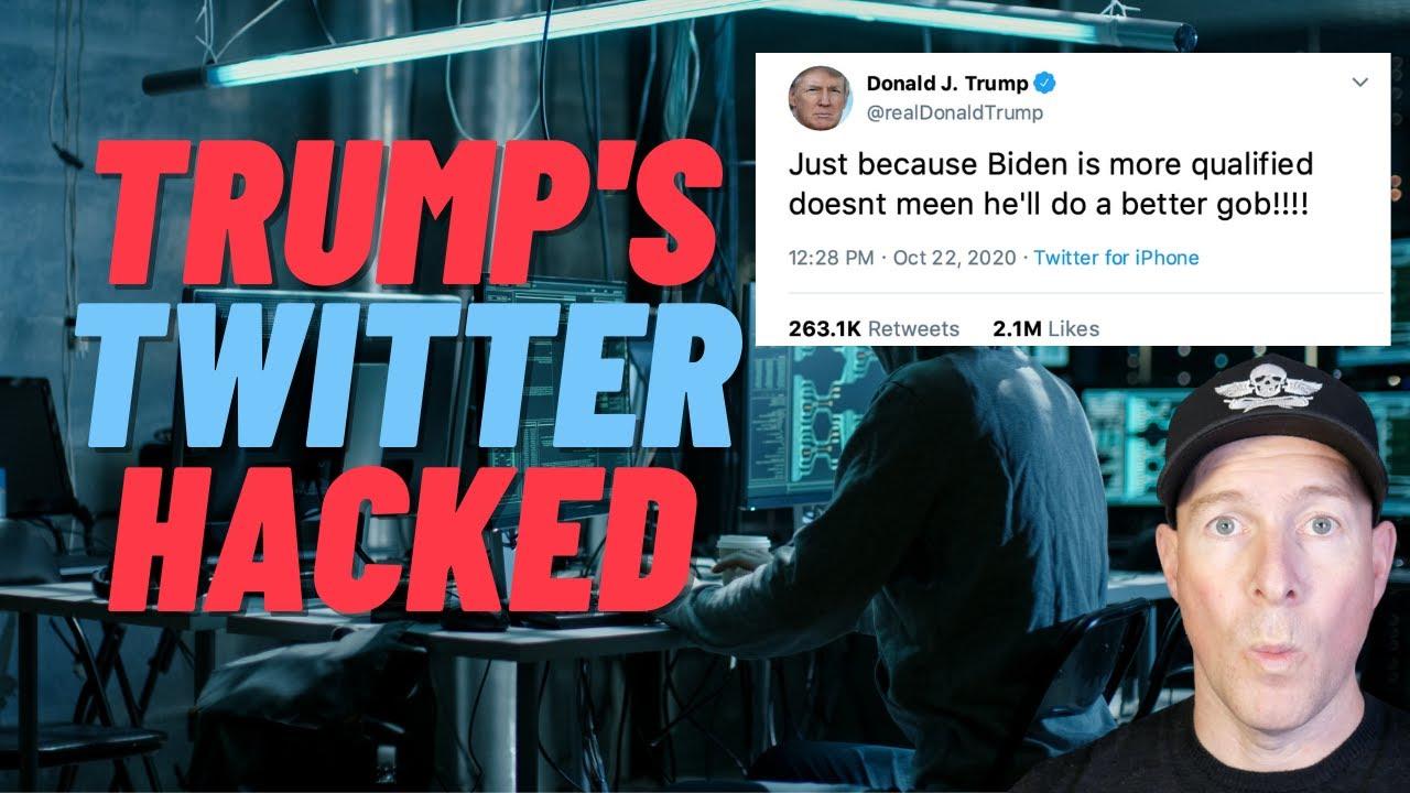 Trump S Twitter Hacked Password Maga2020 Youtube