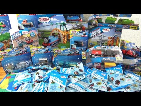 NEW 2015 Thomas and Friends toys Compilation