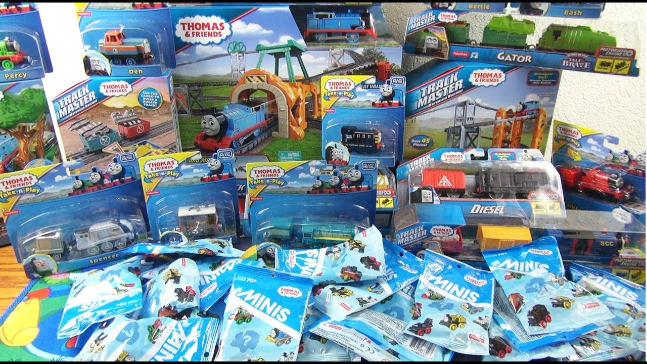 Toys And Friends : New thomas and friends toys compilation youtube