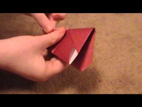 How To Make A Origami Turkey Youtube