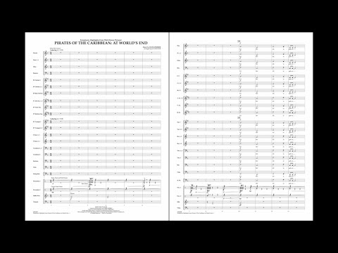 Symphonic Highlights From Pirates Of The Caribbean: At World's End By Zimmer/arr. Bocook