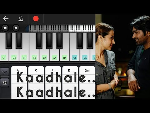 Kaathalae Kaathalae | Chords & Notes | 96 | Vijay Sethupathi | Trisha | Piano