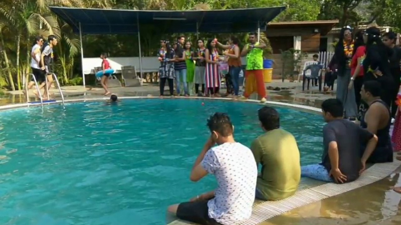 Pool party at Jashan Farm with Anchor Samir Gada - YouTube for Salman Khan Karjat Farmhouse  26bof