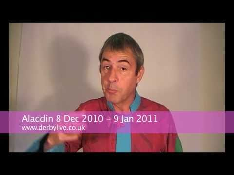 Neil Morrissey in Aladdin