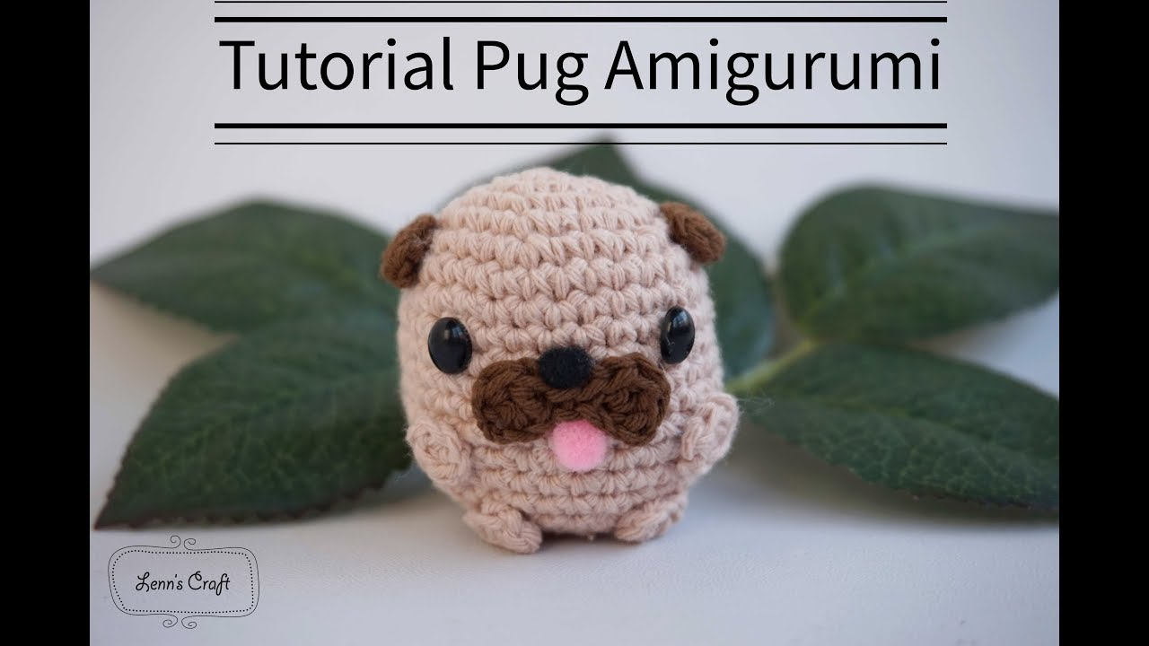 Baby Pug Dog amigurumi pattern | Crochet dog, Crochet dog patterns ... | 720x1280