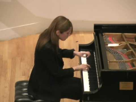 Inesa Sinkevych Plays Schubert Sonata in A Major, D959 3rd Movement