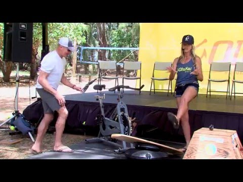 Maliko Downwind SUP Training Session with Suzie Cooney 8th Annual Olukai Race
