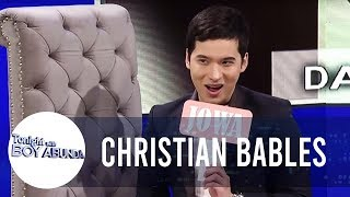 Christian Bables as Sam Panti takes on the Totropahin or Jojowain challenge | TWBA