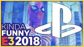 Kinda Funny Talks Over The PlayStation E3 2018 Press Conference (Live Reactions!)
