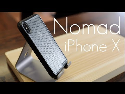new concept 1feff 4cc03 Simple - Cool Looking Case! - Nomad Hex Case - iPhone X - Hands On Look!