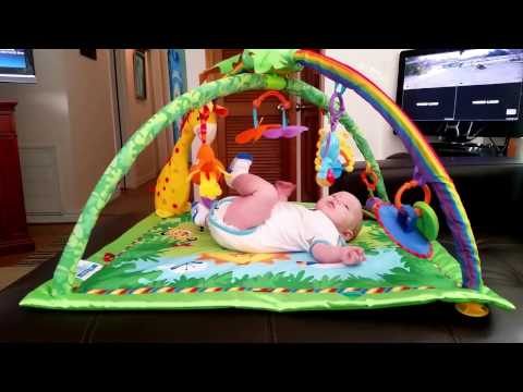 Fisher - Price Rainforest Melodies & Lights Deluxe Gym Review