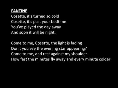 Fantine's Death / Come To Me (Les Miserables) Male Part Only / Karaoke