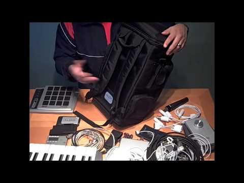 M Audio Studio Back Pack Review By