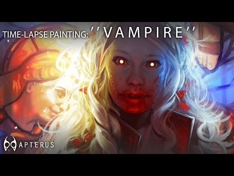 Speed Painting: ''Vampire''