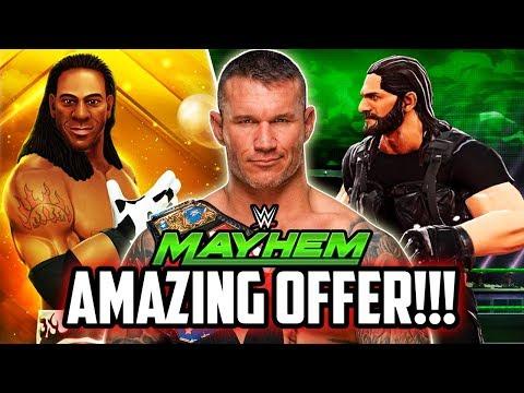 WWE MAYHEM BEST OFFER YET! NEW MOVES & FINISHERS WISHLIST!!!