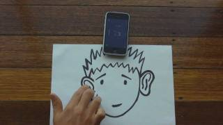 Trippy Audio Illusion - Cartoon Guy 3D♫ [Use Headphones]