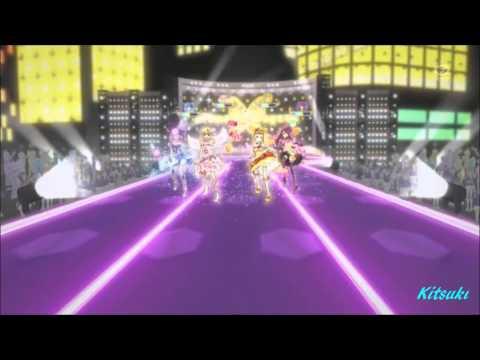 【HD】Aikatsu! - episode 15 -  All 4 girls- Trap of Love