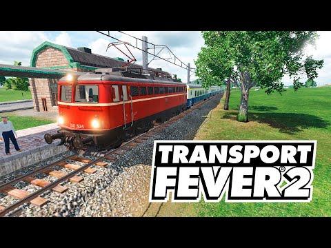 Transport Fever 2 - Новая электричка! #14