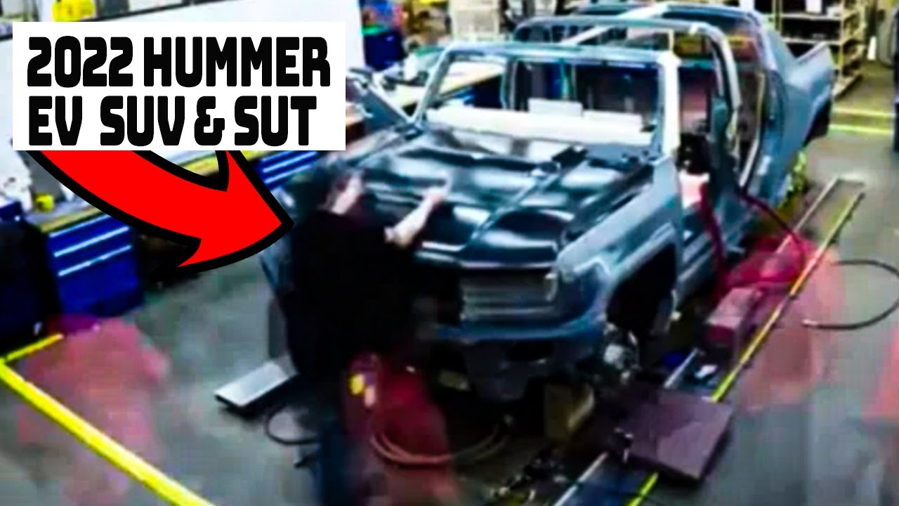 2022 Hummer Ev Suv Sut Insider Information And Spy Photos What We Know So Far Youtube