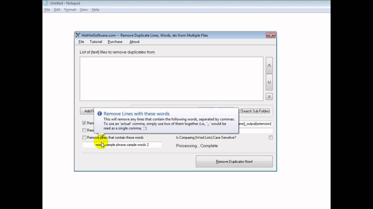 A Document When Using Word How To Remove Or Delete Duplicate Lines Or  Duplicate Words From