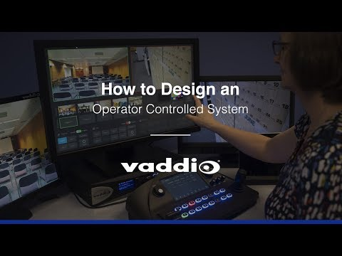 How to Design an Operator Controlled System