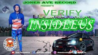 Insedeeus - Verify [Audio Visualizer]