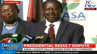 Raila: Kenyans have not accepted the legitimacy of Uhuru's presidency