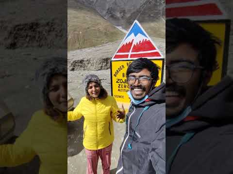 Download we covered zojila pass | one of the most dangerous motorable road in word