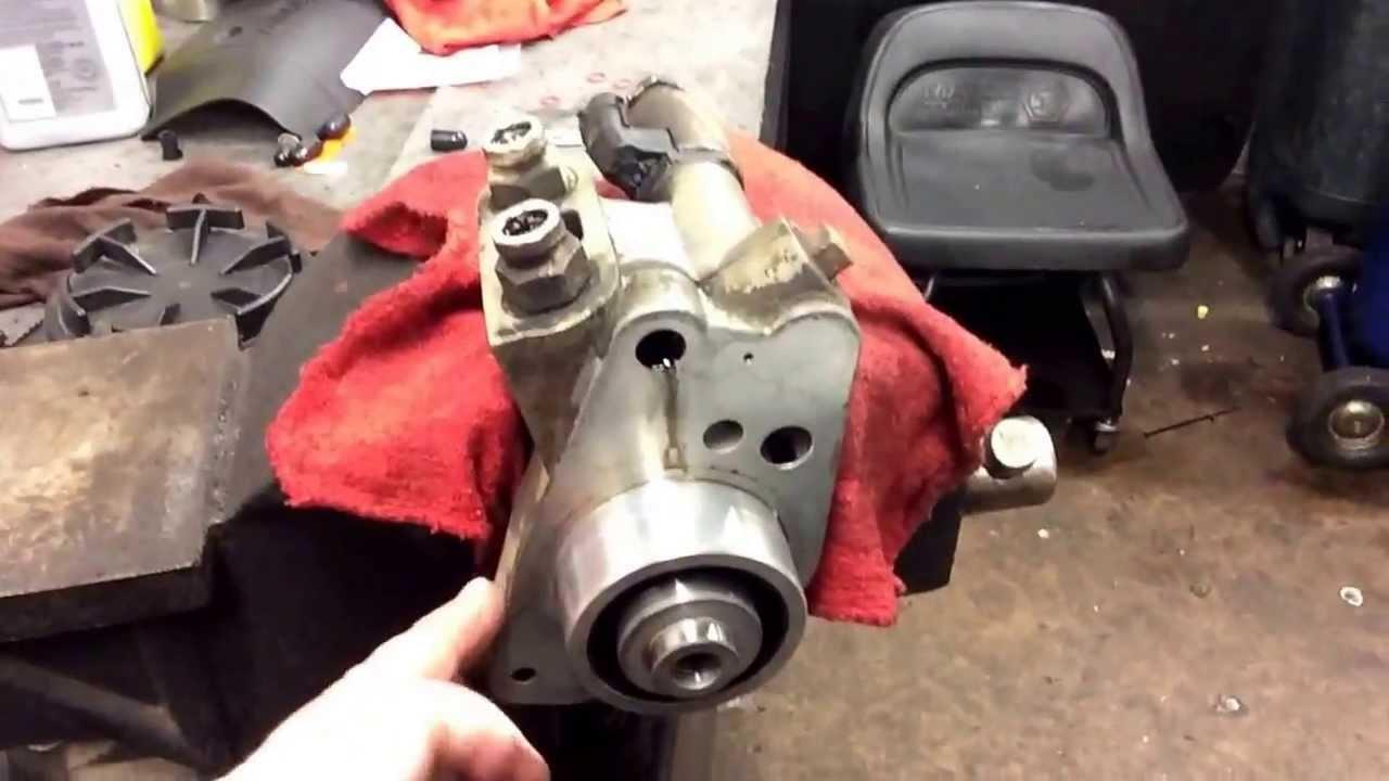 high pressure oil pump leak 2000 ford excursion 7 3 diesel [ 1280 x 720 Pixel ]